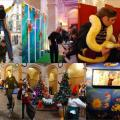 Arbre de Noël au Palais Brongniart
