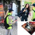 Opération de marketing opérationnel pour l'inauguration d'un centre commercial