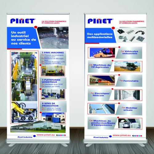 Création de PLV, stand, roll-up