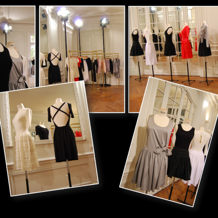Aménagement showroom paris